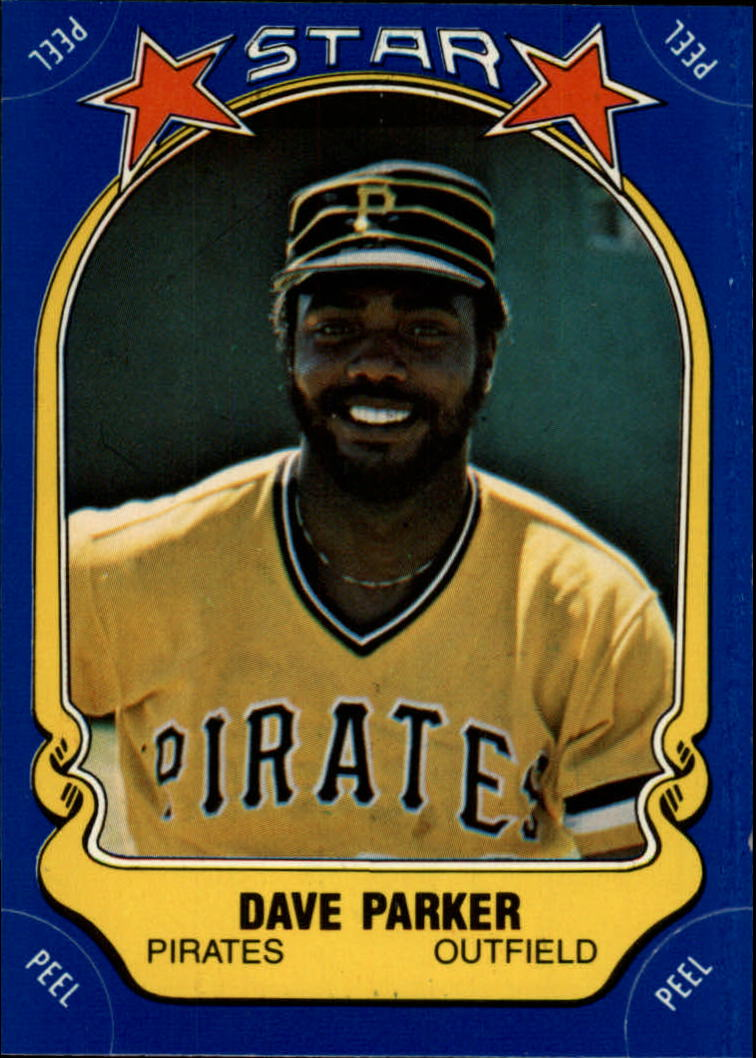 1981 Fleer Star Stickers #26 Dave Parker