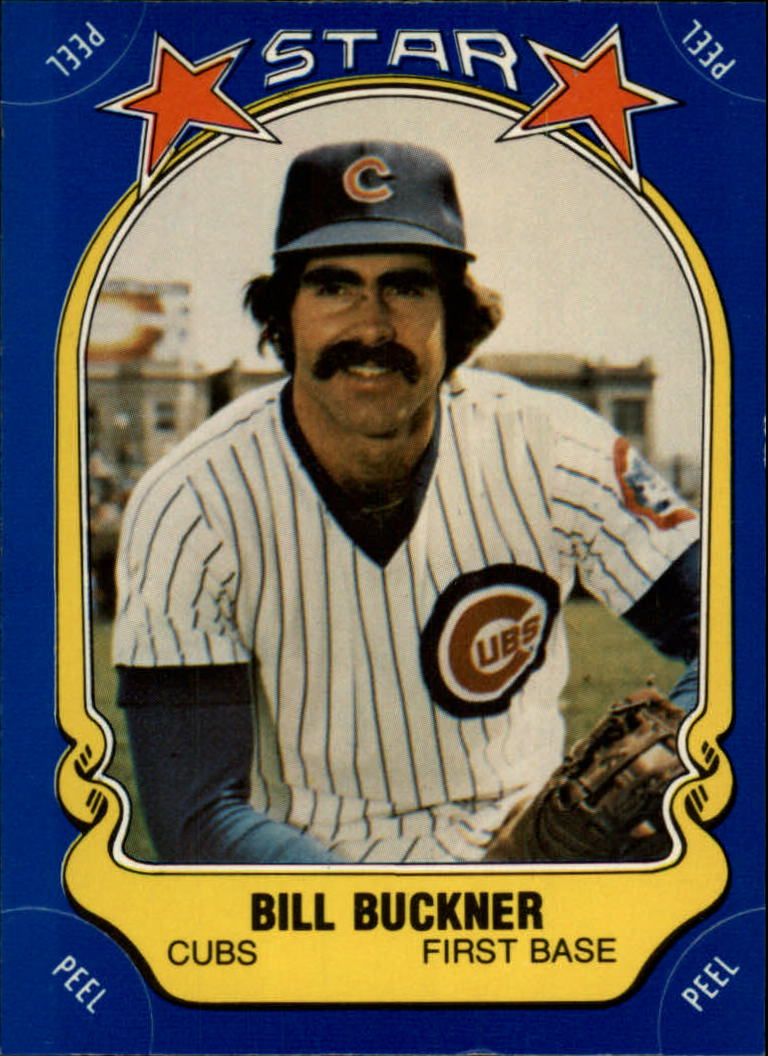 1981 Fleer Star Stickers #29 Bill Buckner