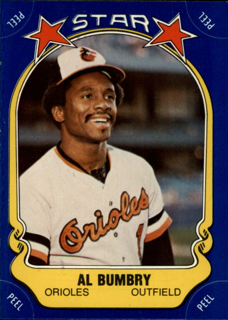 1981 Fleer Star Stickers #30 Al Bumbry