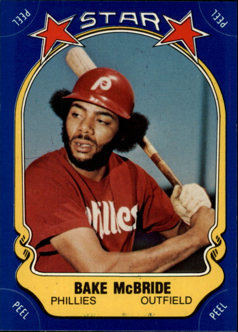 1981 Fleer Star Stickers #31 Bake McBride