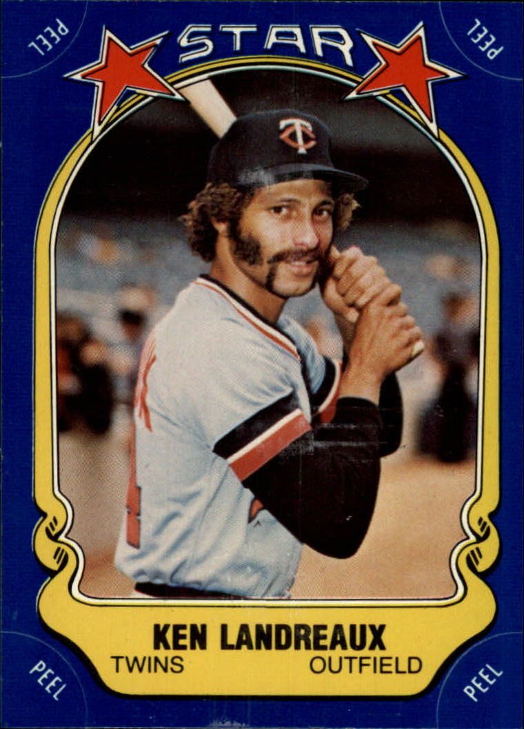 1981 Fleer Star Stickers #46 Ken Landreaux