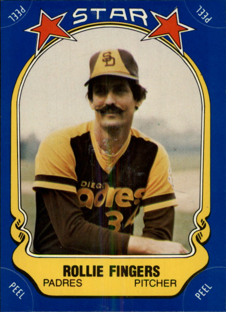 1981 Fleer Star Stickers #47 Rollie Fingers