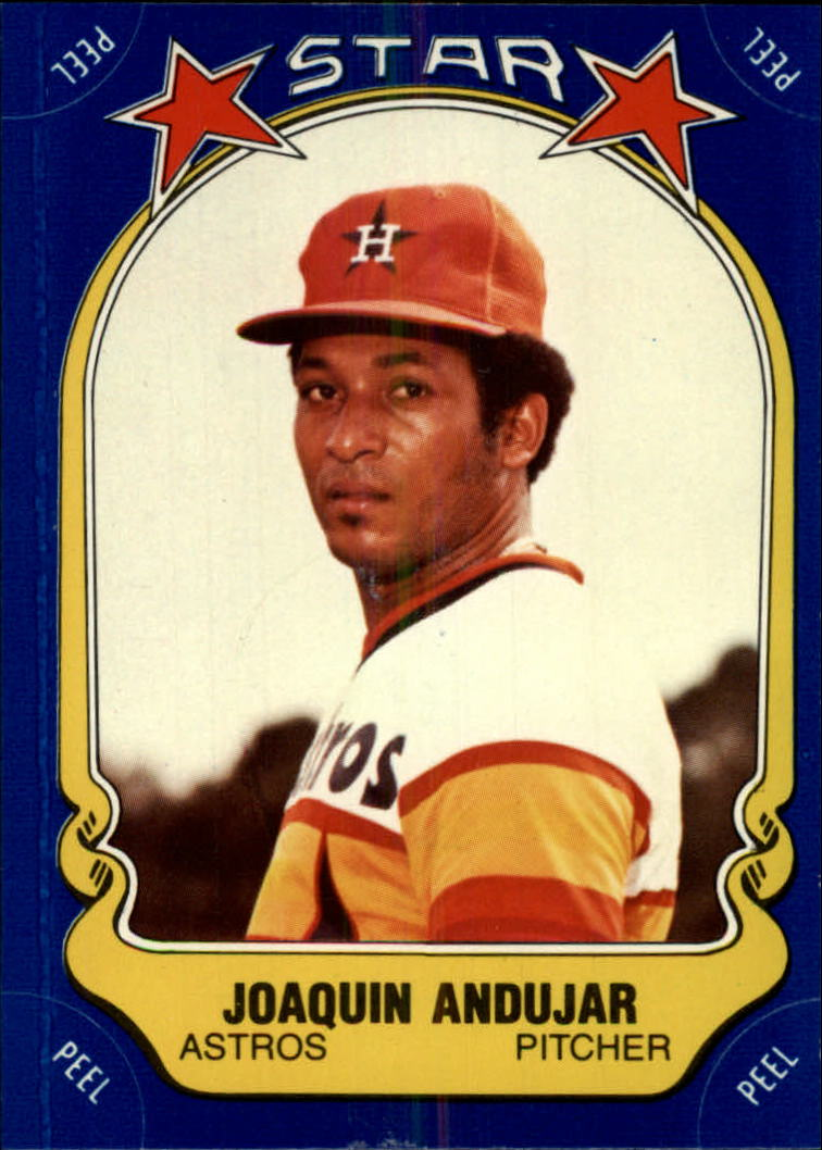 1981 Fleer Star Stickers #48 Joaquin Andujar