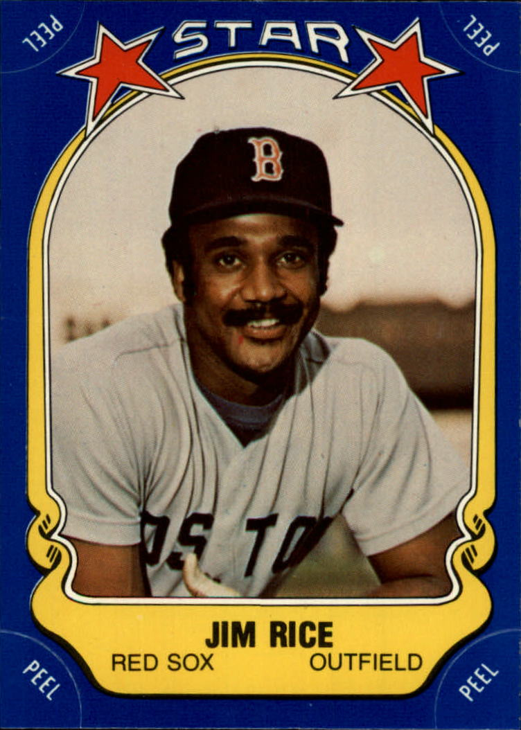 1981 Fleer Star Stickers #53 Jim Rice
