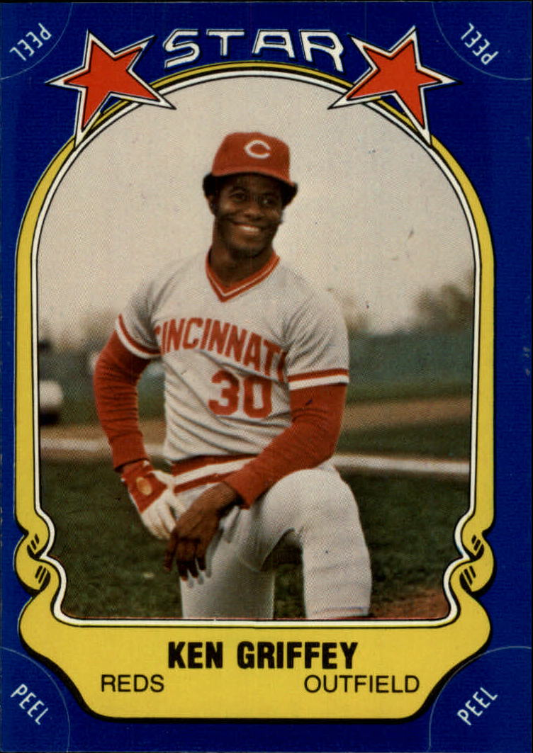1981 Fleer Star Stickers #60 Ken Griffey front image
