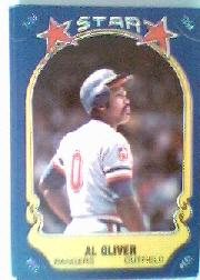 1981 Fleer Star Stickers #64 Al Oliver