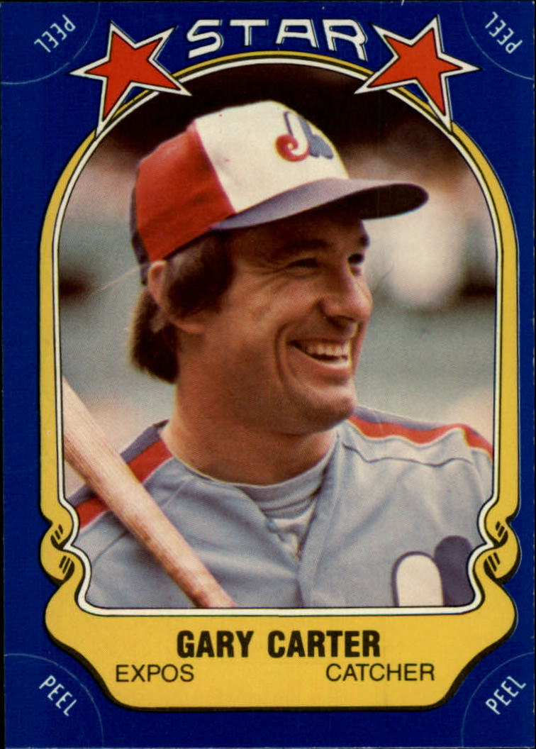 1981 Fleer Star Stickers #73 Gary Carter