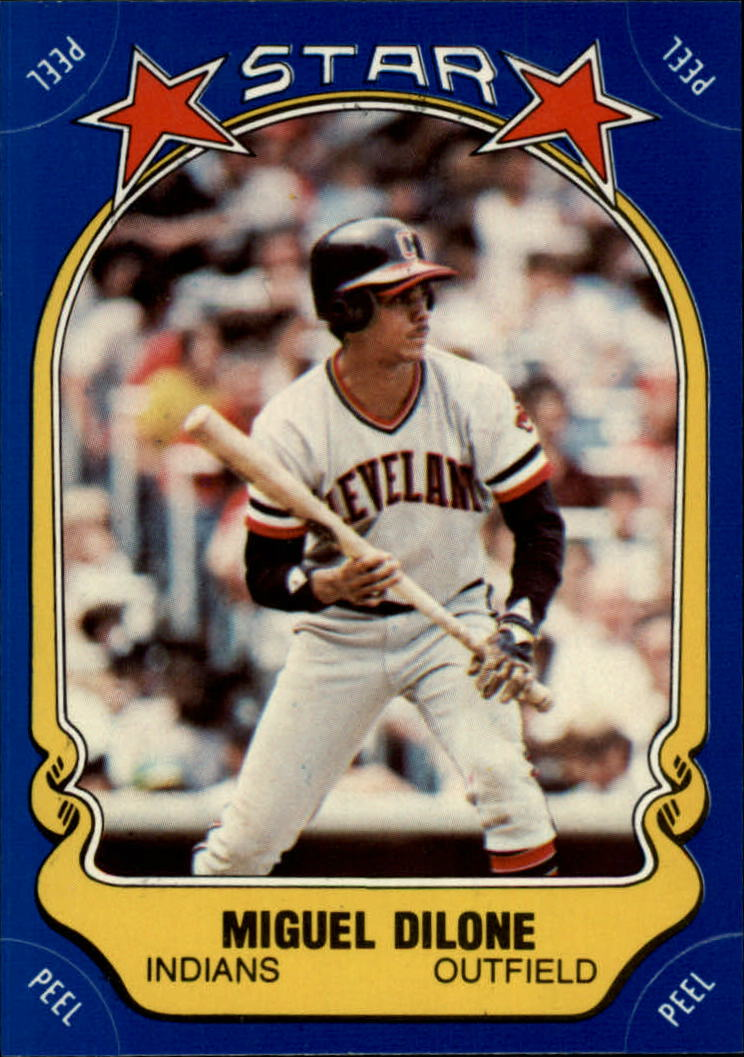 1981 Fleer Star Stickers #86 Miguel Dilone