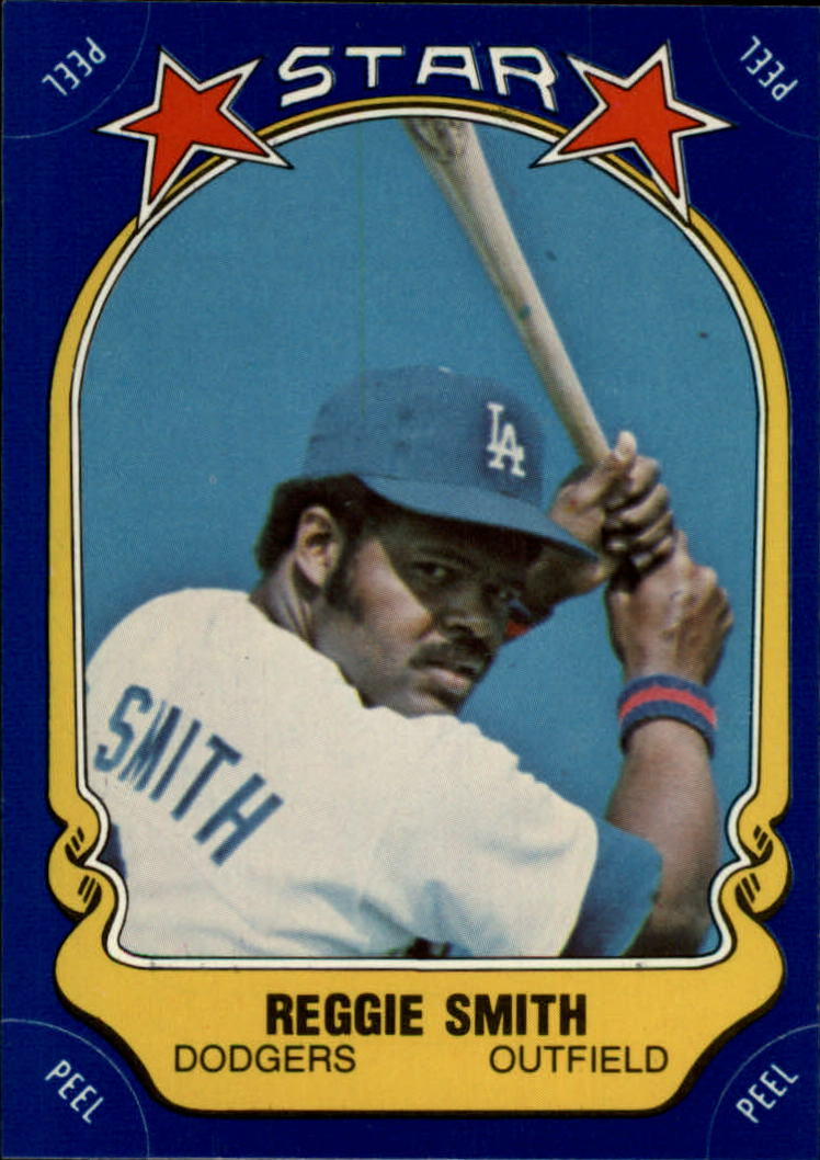 1981 Fleer Star Stickers #87 Reggie Smith