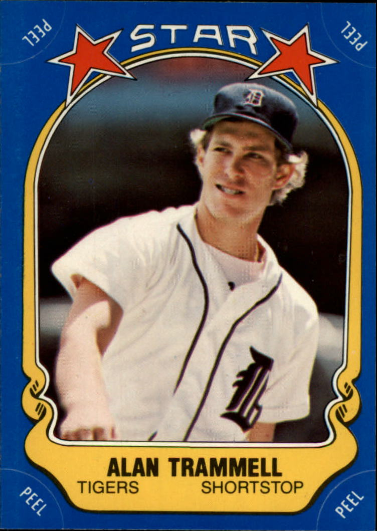 1981 Fleer Star Stickers #89 Alan Trammell