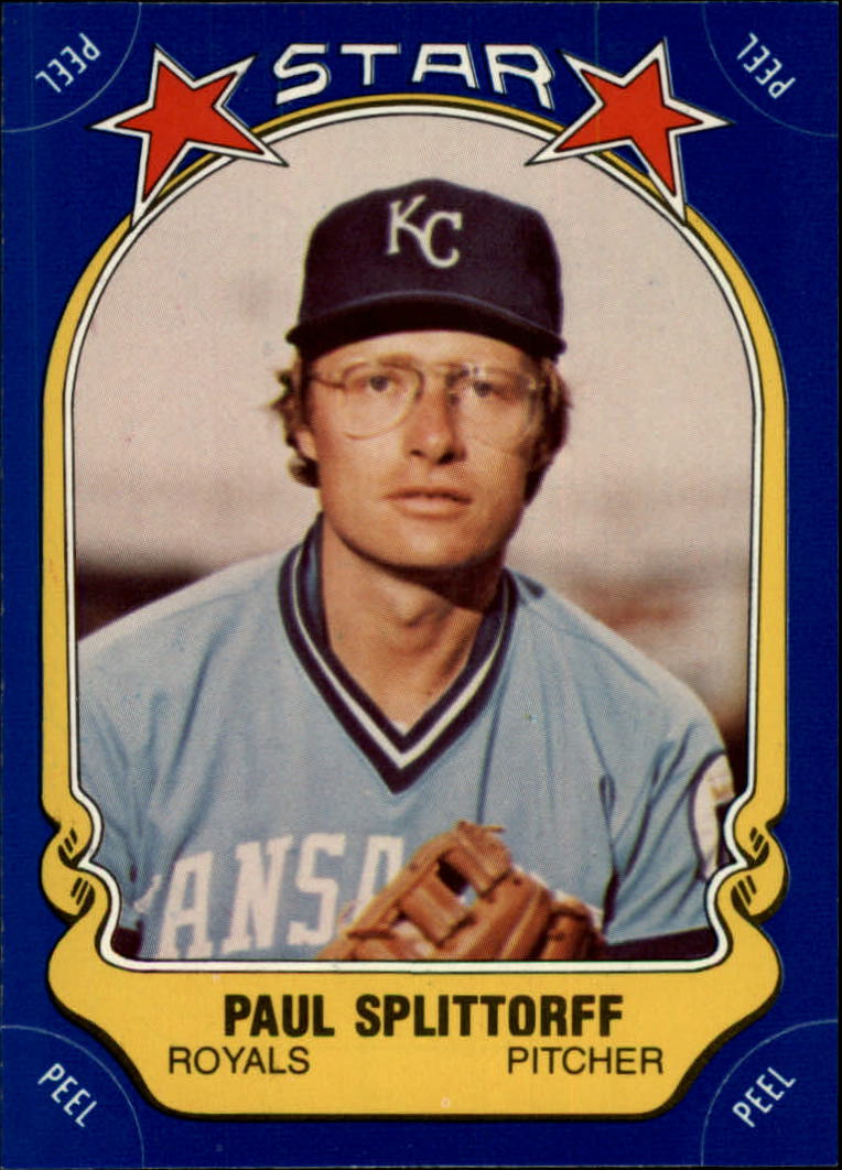 1981 Fleer Star Stickers #95 Paul Splittorff
