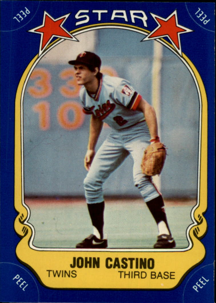 1981 Fleer Star Stickers #112 John Castino