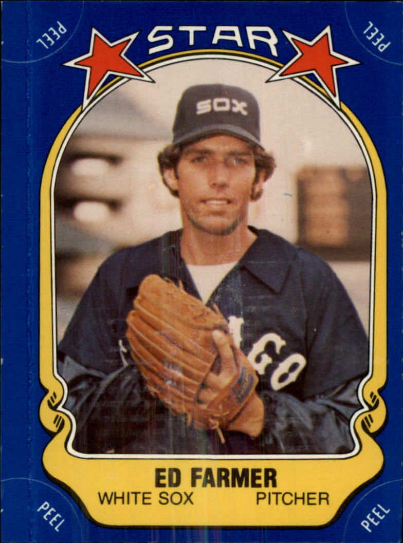 1981 Fleer Star Stickers #114 Ed Farmer