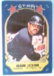 1981 Fleer Star Stickers #126 Reggie Jackson CL 1/Unnumbered