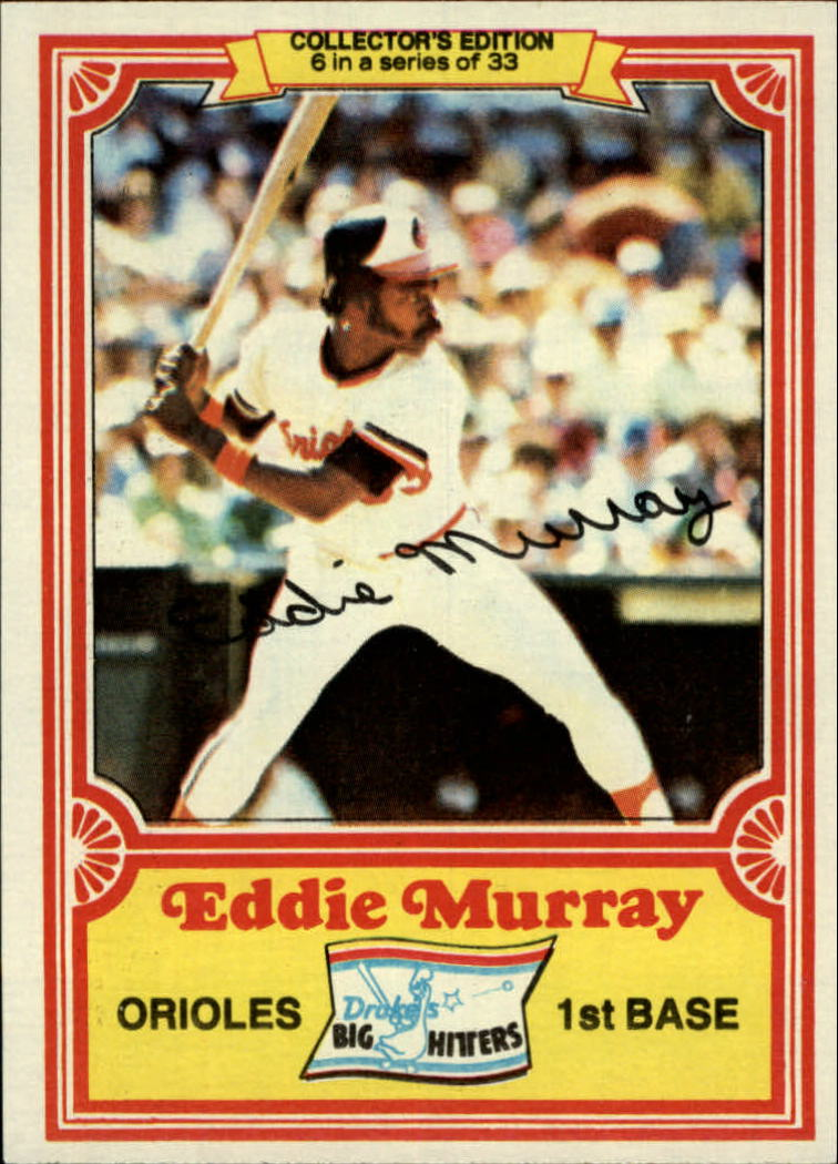 1981 Drake's #6 Eddie Murray