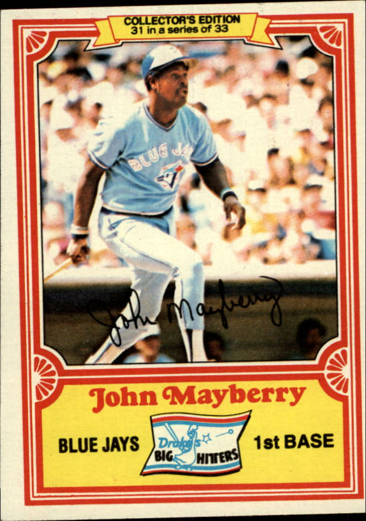 1981 Drake's #31 John Mayberry