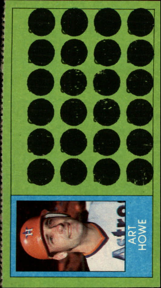 1981 Topps Scratchoffs #99a Art Howe Locker
