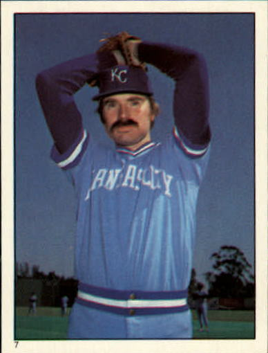 1981 Topps Stickers #7 Dan Quisenberry