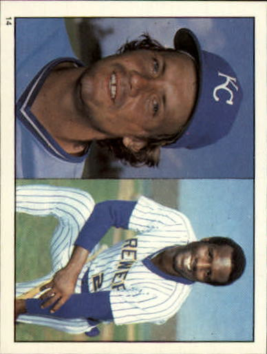 1981 Topps Stickers #14 George Brett/Ben Oglivie