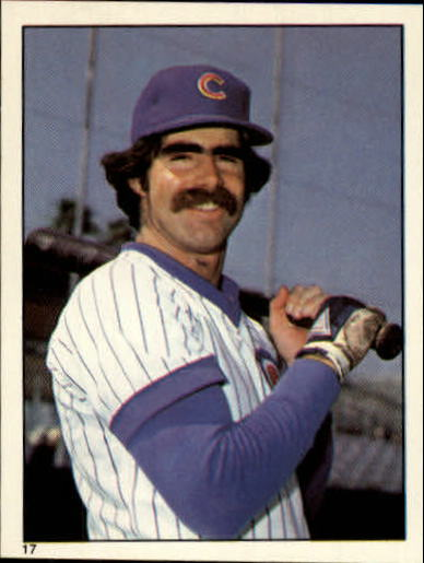1981 Topps Stickers #17 Bill Buckner