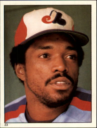 1981 Topps Stickers #23 Ron LeFlore