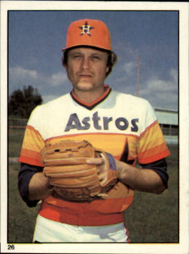 1981 Topps Stickers #26 Joe Niekro