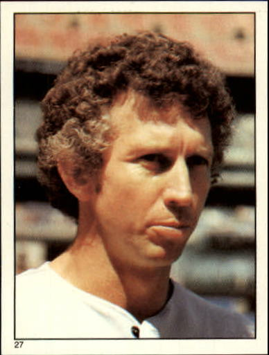 1981 Topps Stickers #27 Don Sutton