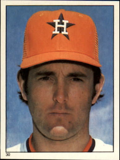 1981 Topps Stickers #30 Nolan Ryan