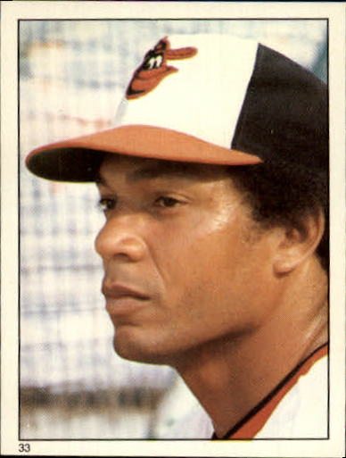 1981 Topps Stickers #33 Ken Singleton