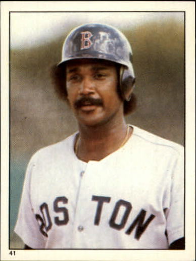 1981 Topps Stickers #41 Jim Rice