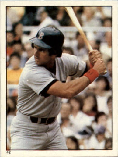 1981 Topps Stickers #42 Fred Lynn