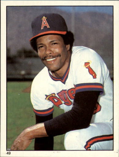 1981 Topps Stickers #49 Rod Carew