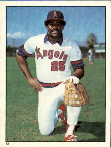 1981 Topps Stickers #51 Don Baylor