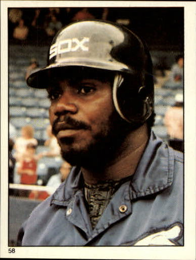1981 Topps Stickers #58 Lamar Johnson