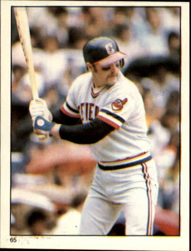 1981 Topps Stickers #65 Toby Harrah