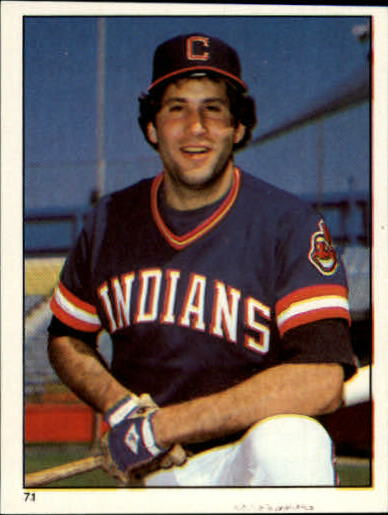 1981 Topps Stickers #71 Ron Hassey