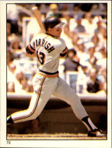1981 Topps Stickers #73 Lance Parrish