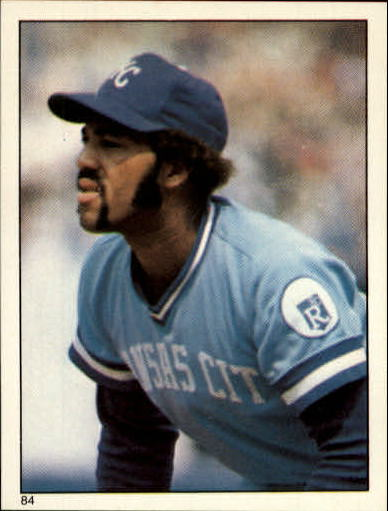 1981 Topps Stickers #84 Willie Aikens front image