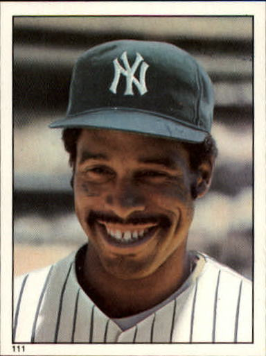 1981 Topps Stickers #111 Dave Winfield