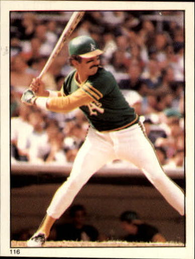 1981 Topps Stickers #116 Tony Armas