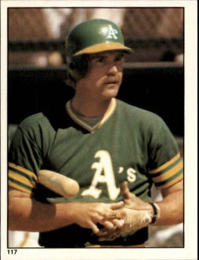 1981 Topps Stickers #117 Dave Revering