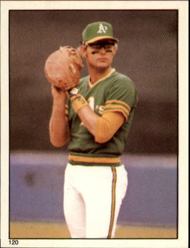1981 Topps Stickers #120 Jeff Newman