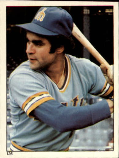 1981 Topps Stickers #126 Julio Cruz