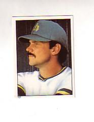 1981 Topps Stickers #127 Richie Zisk