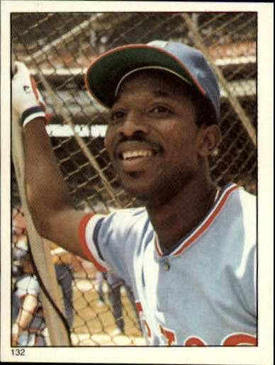 1981 Topps Stickers #132 Mickey Rivers