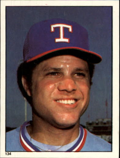 1981 Topps Stickers #134 Bump Wills