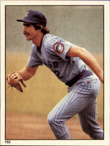 1981 Topps Stickers #153 Bill Buckner