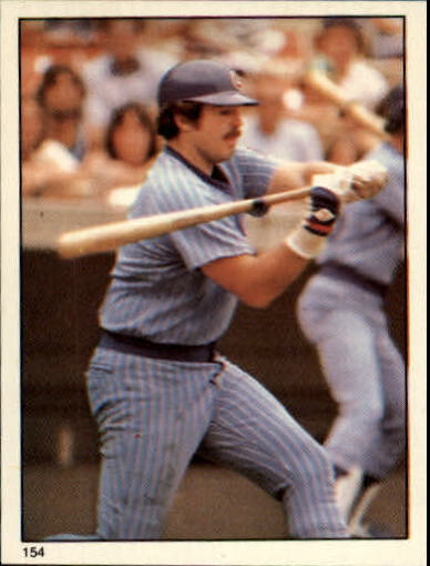 1981 Topps Stickers #154 Barry Foote