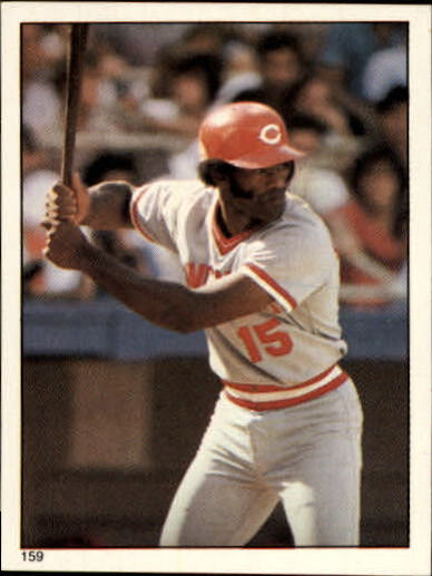 1981 Topps Stickers #159 George Foster