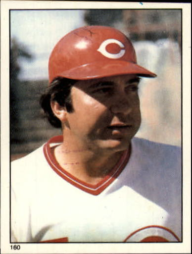 1981 Topps Stickers #160 Johnny Bench